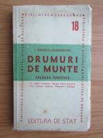 Anticariat: I. Ionescu Dunareanu - Drumuri de munte