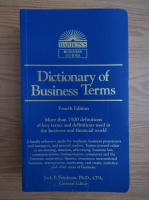 Anticariat: Jack P. Friedman - Dictionary of business terms