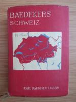 Anticariat: Karl Baedeker - Die Schweiz (1930)