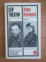 Anticariat: Lev Tolstoi - Anna Karenina (volumul 2)