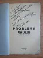 Anticariat: Nicolae Neagu - Problema raului (cu autograful autorului, 1944)