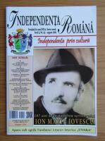 Anticariat: Revista Independenta romana, anul 5, nr. 55, august 2019