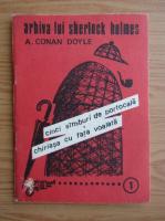 Arthur Conan Doyle - Cinci samburi de portocala. Chiriasa cu fata voalata