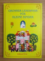 Anticariat: Grosser Lesespass fur Kleine Kinder