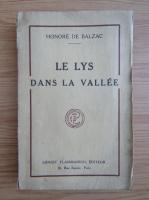 Honore de Balzac - Le Lys Dans La Vallee (1927)