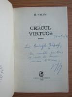 Anticariat: Horia Salem - Cercul virtuos (cu autograful si dedicatia autorului pentru Balogh Jozsef)