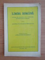 Limba romana pentru admiterea in licee si scoli profesionale