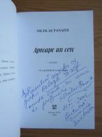 Nicolae Panaite - Aproape un cerc (cu autograful si dedicatia autorului pentru Balogh Jozsef)