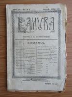 Anticariat: Revista Lamura, anul III, nr. 1-2, octombrie-noiembrie 1921