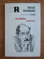 Anticariat: Revue Roumaine, anul CXXXV, nr. 1-2, 1995