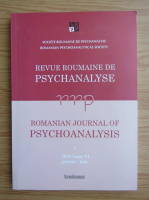 Anticariat: Revue roumaine de psychanalyse. Romanian journal of psychoanalysis