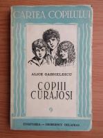 Alice Gabrielescu - Copiii curajosi (1943)