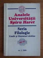 Anticariat: Analele Universitatii Spiru Haret. Seria sociologie-psihologie, nr. 2, 2000