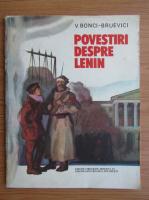 Bonci Bruevici - Povestiri despre Lenin