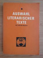 Anticariat: Franz Hodjak - Auswahl Literarischer Texte