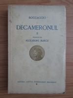 Anticariat: Giovanni Boccaccio - Decameronul (volumul 2, 1933)