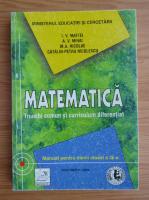 I. V. Maftei - Matematica. Manual pentru elevii clasei a IX-a (2004)