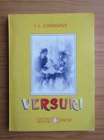 Anticariat: Ion Luca Caragiale - Versuri