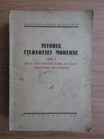 Anticariat: Istoria filosofiei moderne, volumul 1. Dela Renastere pana la Kant (1937)
