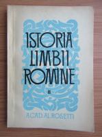 Anticariat: Istoria limbii romane (volumul 2)