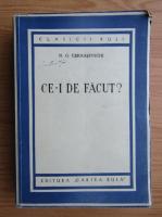 Anticariat: N. G. Cernasevschi - Ce-i de facut?