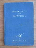 Anticariat: Ruder, boot und boothaus (1940)