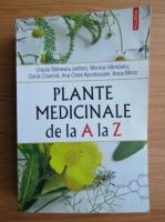 Ursula Stanescu - Plante medicinale de la A la Z