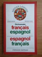 Anticariat: Francois Molina - Dictionnaire francais-espagnol, espagnol-francais