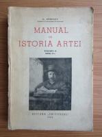 Anticariat: G. Oprescu - Manual de istoria artei (volumul 2, editia a II-a, 1945)