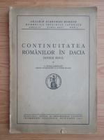 Anticariat: G. Popa Lisseanu - Continuitatea romanilor in Dacia (1941)