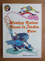 Monkey raises havoc in Jindou cave