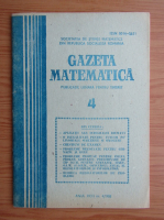 Revista Gazeta Matematica, anul XCIII, nr. 4, 1988