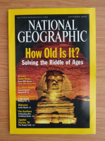 Revista National Geographic, september 2001