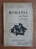 S. Mehedinti - Romania pentru cursul superior (1924)