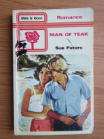 Anticariat: Sue Peters - Man of teak