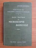 Anticariat: Alexandre Daufresne - Guide pratique de microscopie agricole (1900)