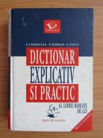 Anticariat: Elena Comsulea, Sabina Teius - Dictionar explicativ si practic