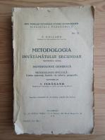 Anticariat: Franck Collard - Metodologia invatamantului secundar (1922)