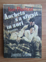 Anticariat: Ion Floricel - Ancheta s-a sfarsit in zori
