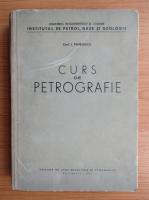 Lazar Pavelescu - Curs de petrografie