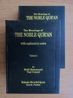 Mufti Muhammad - The meaning of the Noble Qur'an (2 volume)