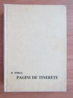 Anticariat: N. Iorga - Pagini de tinerete (volumul 2)