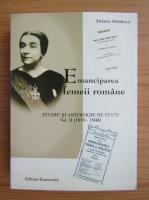 Anticariat: Stefania Mihailescu - Emanciparea femeii romane (volumul 2)