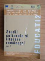 Studii culturale si literare romanesti (volumul 5)