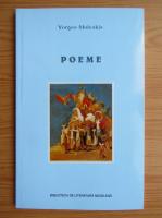 Anticariat: Yorgos Moleskis - Poeme (editie bilingva)