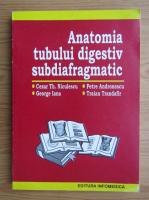 Cezar Th. Niculescu - Anatomia tubului digestiv subdiafragmatic