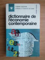 Fernard Baudhuin - Dictionnaire de l'economie contemporaine