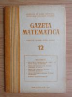 Anticariat: Gazeta Matematica, anul LXXXII, nr. 12, 1977