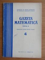 Anticariat: Gazeta Matematica, anul XXV, nr. 4, aprilie 1974
