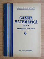 Anticariat: Gazeta Matematica, anul XXV, nr. 6, iunie 1974
